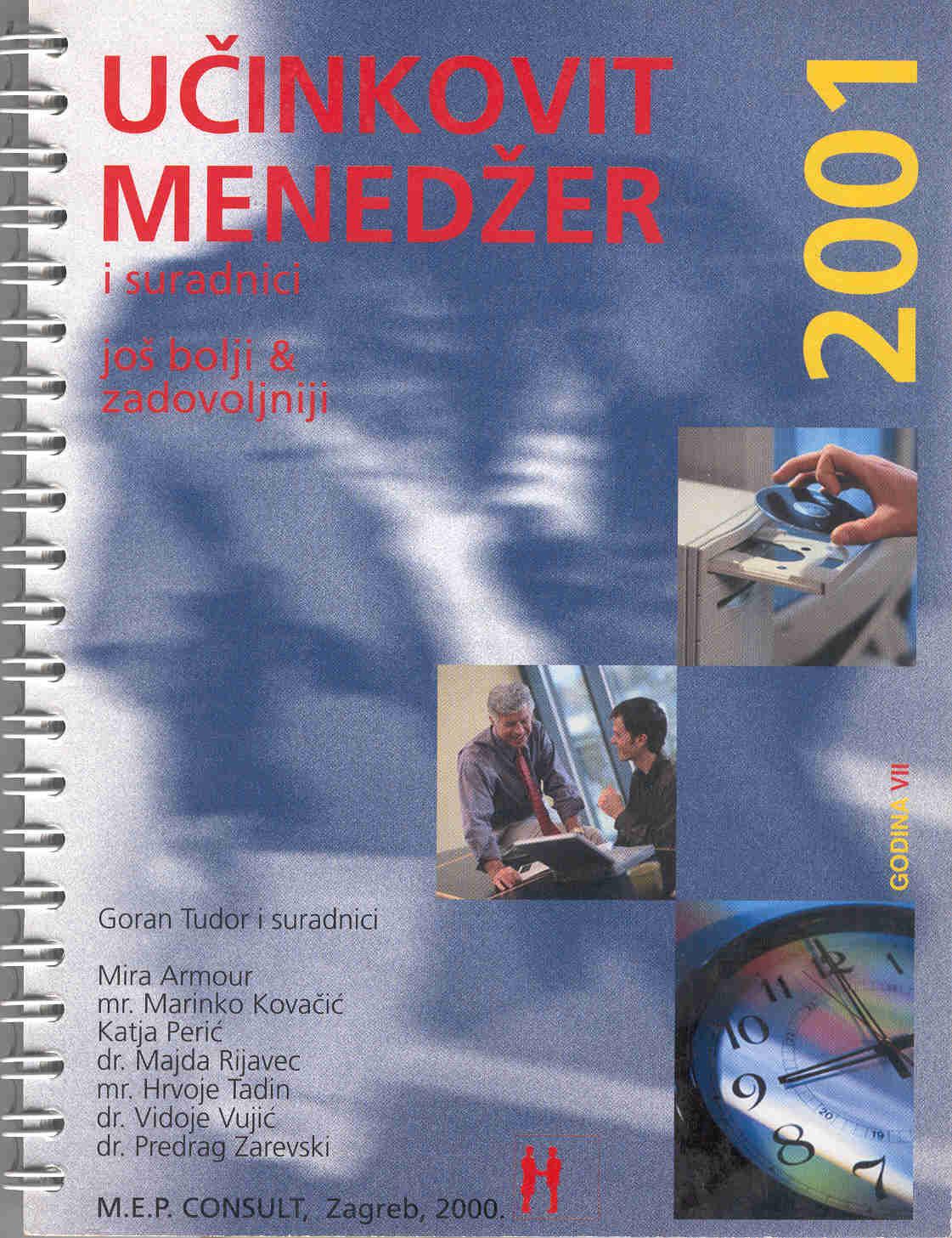 UČINKOVITI MENADŽER 2001