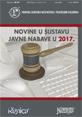 NOVINE U SUSTAVU JAVNE NABAVE U 2017.