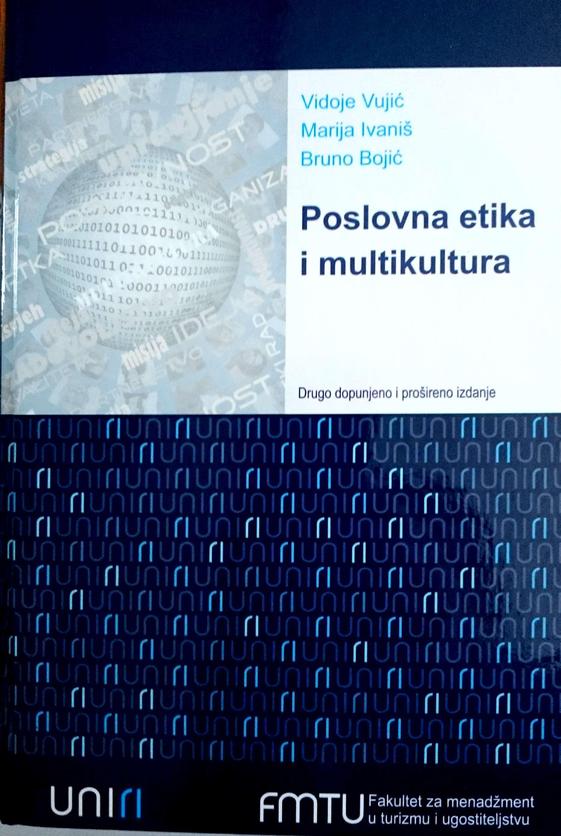 POSLOVNA ETIKA I MULTIKULTURA, II. dopunjeno i prošireno izdanje